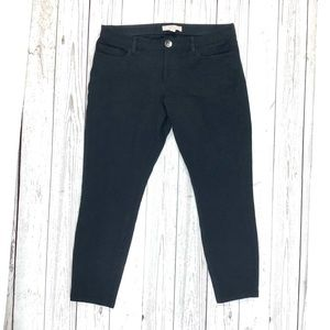 Banana Republic cropped black Sloan pants